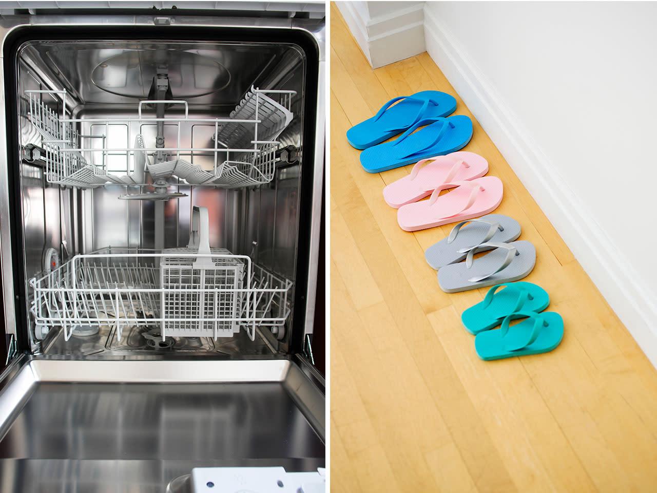 10 Alltags-Dinge, die in der Spülmaschine sauber werden