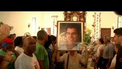 Tension at Cuban dissident's funeral
