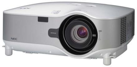 NEC's LCD projector plays wireless with Vista and CE devices