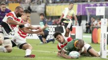 Boks sink Japan to set up Wales Cup semi