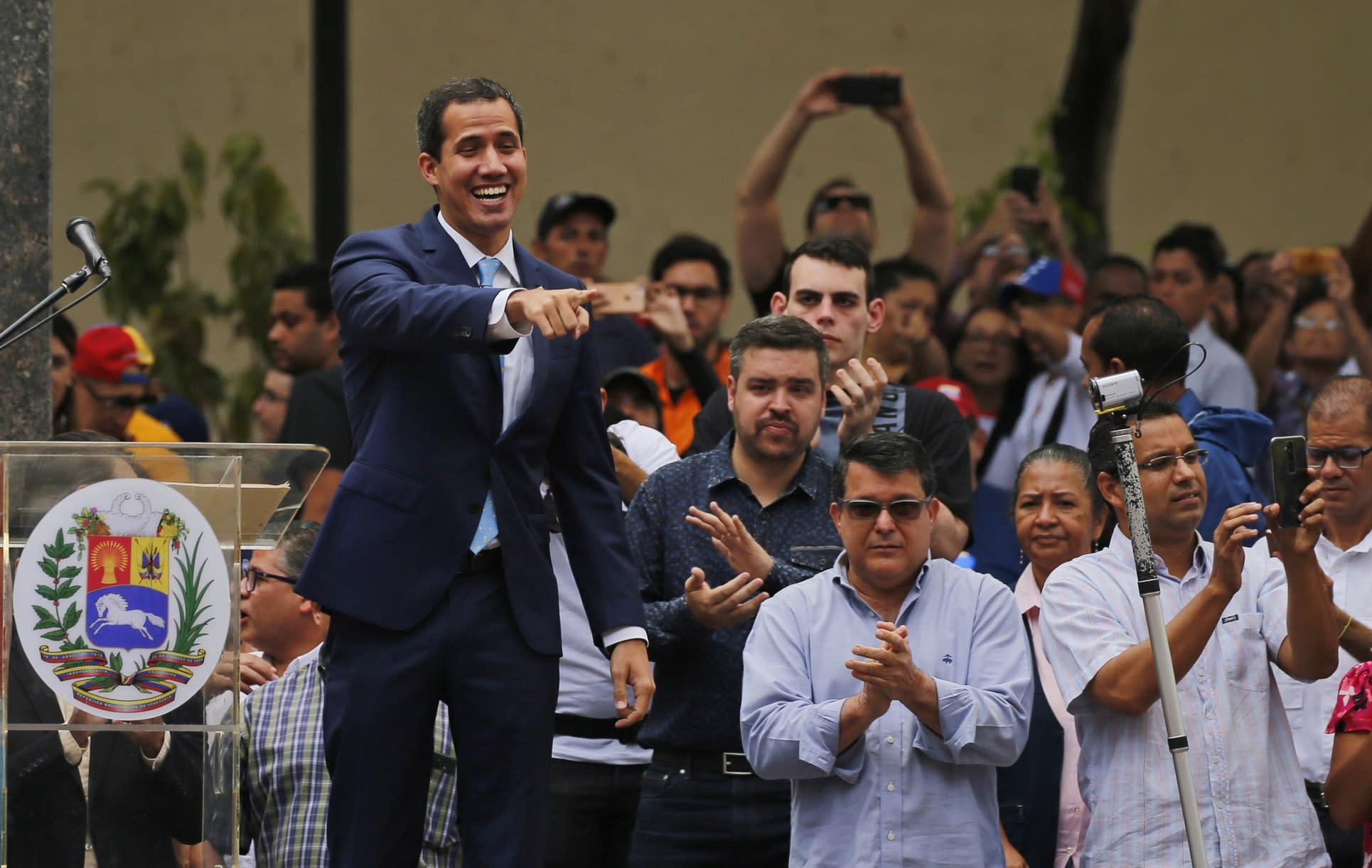 Venezuela's Guaidó calls for big protests on May 1