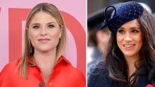"Jenna Bush Hager Defends Meghan Markle Against Mom-Shamers, Asking Fans to ""Lift Each Other Up"""