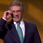 SNL: Jon Hamm's Bill Taylor Brings 'Pizzazz' to Trump Impeachment Hearings