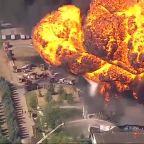 Rockton chemical plant explosion causes major fire, smoke
