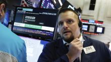 Markets Right Now: Tech, banks lead US stock indexes lower