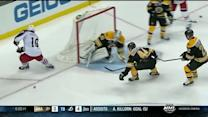 Chad Johnson denies Ryan Johansen