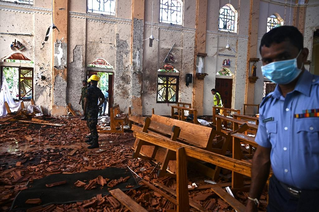 More people are believed to have died at St Sebastian's than any of the other Easter Sunday attacks in Sri Lanka (AFP Photo/Jewel SAMAD)