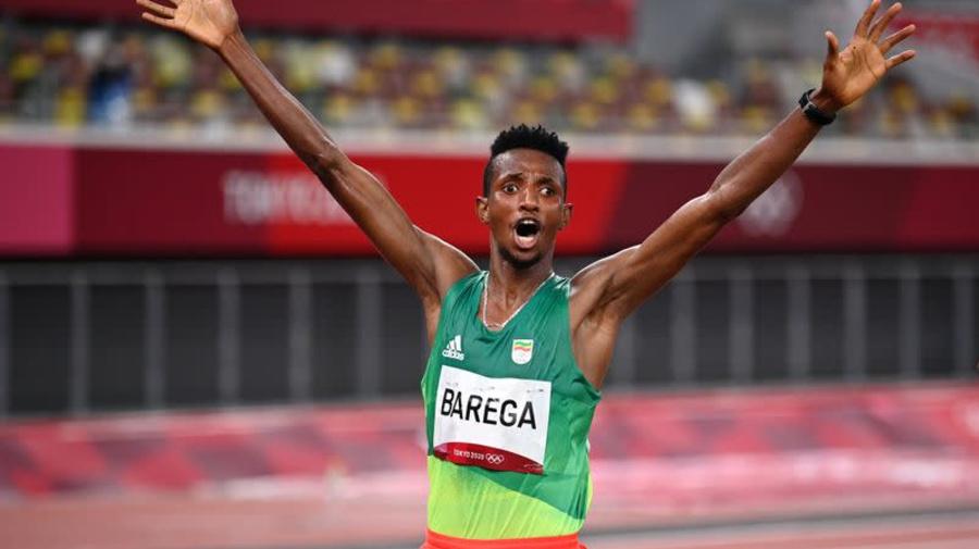 Olympics-Athletics-Ethiopia lauds Barega's stunning 10,000m win
