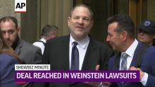 ShowBiz Minute: Weinstein, Jackson, amfAR