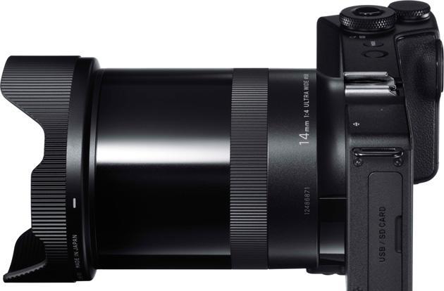 Sigma makes a super wide-angle version of its super wide camera