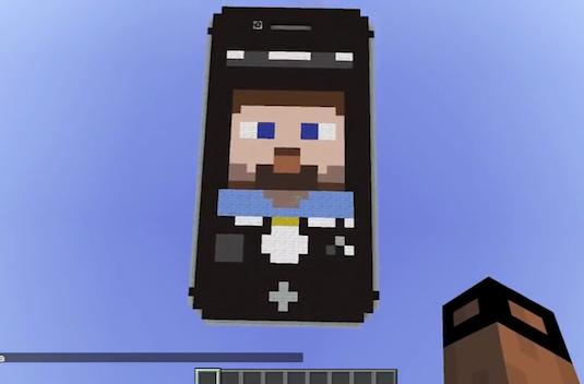 """A German man has built a """"working"""" iPhone in Minecraft"""
