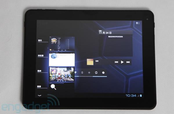 Fuzhou Rockchip teases Android 4.0 PAD, brings Ice Cream Sandwich to the big screen (video)