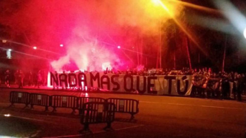 Ligue des champions: Le soutien tardif (et bruyant) des supporters de l'Atlético