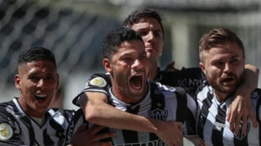 Veja os gols da vitória do Atlético-MG sobre o Bahia pelo Brasileirão