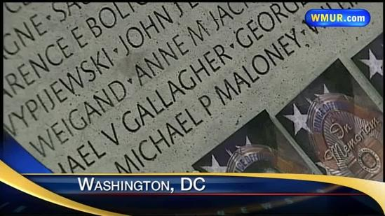 Maloney's name added to law enforcement memorial
