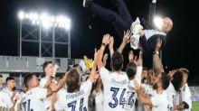 Winning LaLiga 'best day of my professional life,' says Real Madrid manager Zinedine Zidane