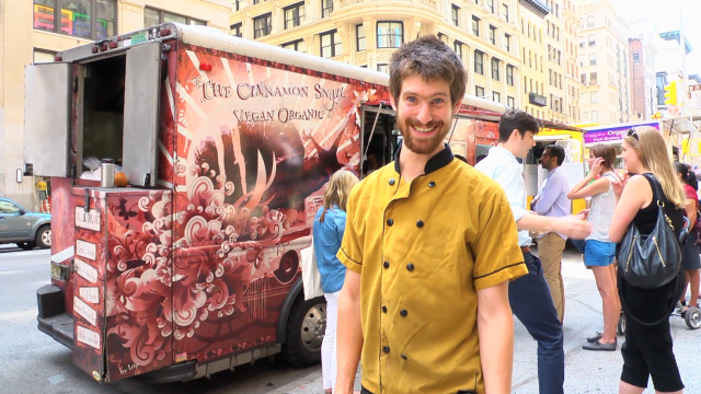 2012 NYC Vendy Awards Finalist: The Cinnamon Snail Vegan Food Truck