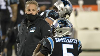 Panthers coach responds to QB's complaint