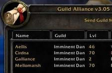 Guild alliances in the UI