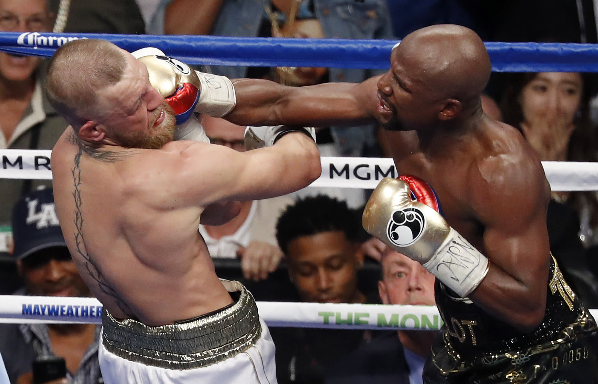 Mayweather-McGregor falls way short of Mayweather-Pacquiao ticket sales record