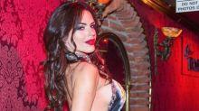 Polémica en las redes por una foto de Sofía Clérici posando sexy con un arma