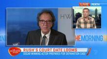 Geoffrey Rush prepares for defamation case