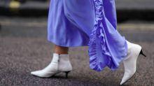 10 ways to wear white boots all year round