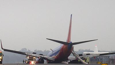 Up to 10 Treated After Landing Gear Collapse