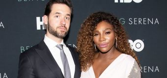 Fans in frenzy over photos of Serena and husband