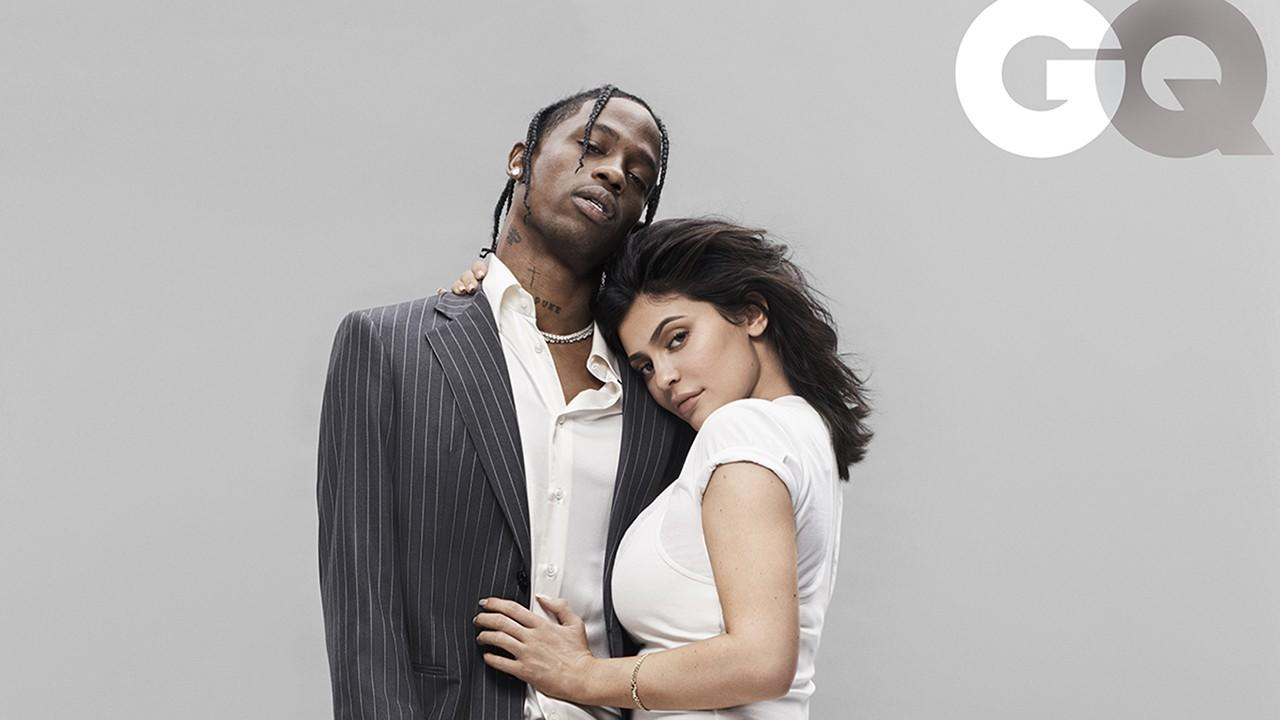 Kylie Jenner and Travis Scott Share First Joint Magazine Cover, Talk the 'Kardashian Curse'