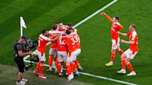 Kenny Dougall double against Lincoln sends Blackpool back to Championship