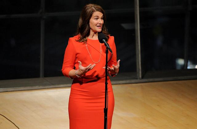 Melinda Gates' initiative is about getting more women into tech