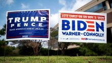 Trump and Biden hit the campaign trail as Supreme Court battle looms