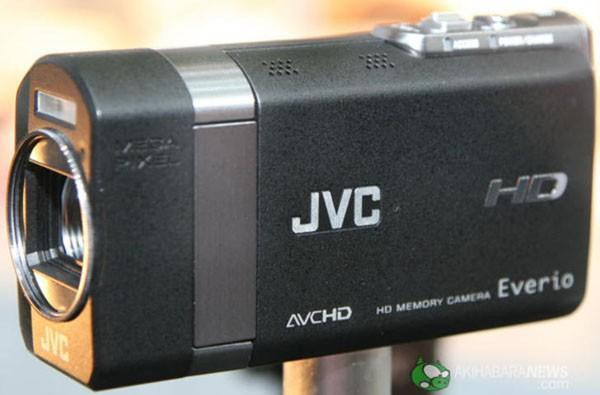 JVC unveils new Everio concept HD camcorder at CEATEC