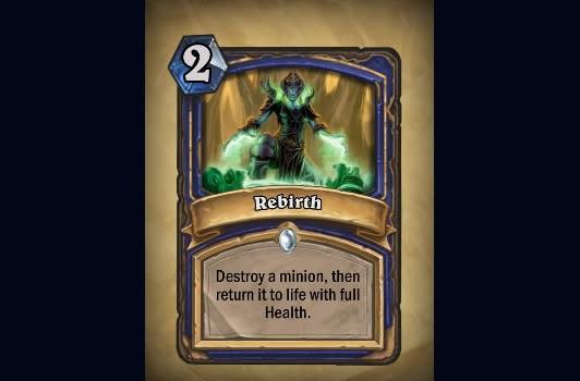 Hearthstone unveils new Rebirth card