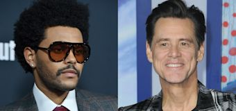 The Weeknd spent 30th birthday with Jim Carrey