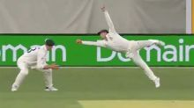 Steve Smith 'catch of the summer' leaves cricket world gobsmacked