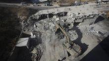 Israeli work crews demolish Palestinian homes in east Jerusalem