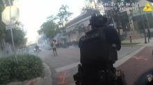 Watch Florida police laugh after shooting protesters with rubber bullets