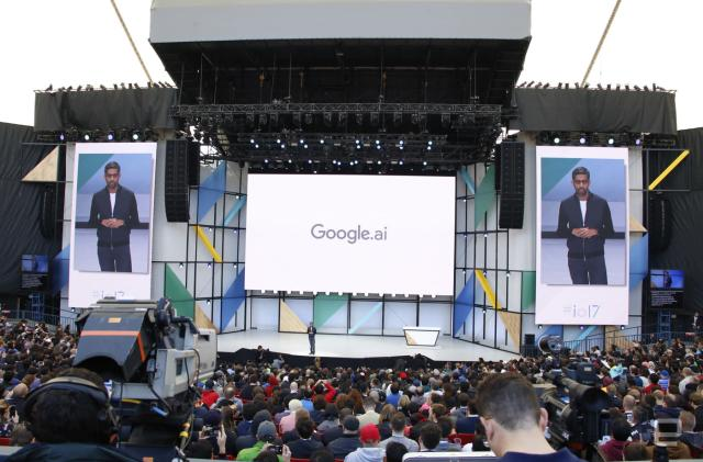 Watch Google's I/O 2017 keynote in 16 minutes