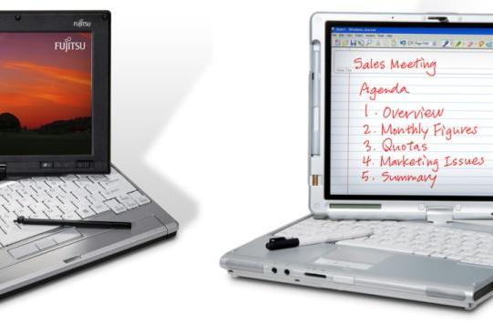 Fujitsu unveils LifeBook P1610 and T4125 convertible tablets