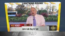 Cramer's lightning round: The analysts downgrading Edward...