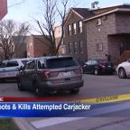 Would-be carjacker fatally shot by retired officer in Bridgeport, police say; 2 in custody