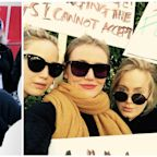 18 Celebrities Who Attended the 2018 Women's March This Weekend