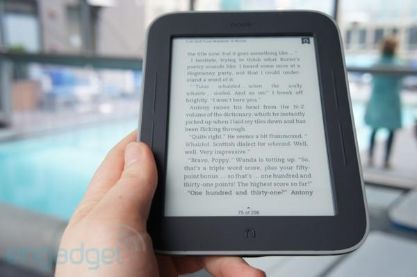 Barnes & Noble bringing Nook Simple Touch with GlowLight to UK retailer John Lewis in the fall