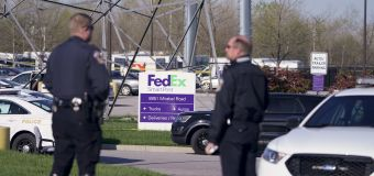 Police working to ID gunman, motive in FedEx shooting