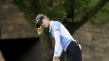 Final birdie gives Nelly Korda a 1-shot lead in LPGA major
