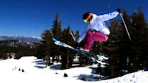 Slopestyle Skiing With Freestyler Kristi Leskinen