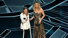 Why Jodie Foster was on crutches at the Oscars