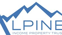 Alpine Income Property Trust Enters Into Agreements to Acquire Seven Properties From CTO Realty Growth for $56.0 Million